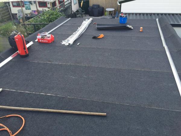 Plat dak vervangen in Nijmegen