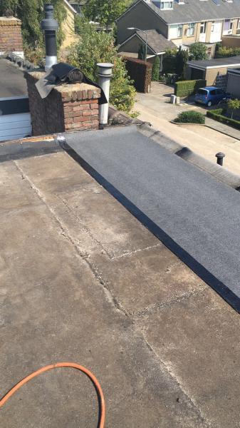 Plat dak vervangen dakkapel Drunen