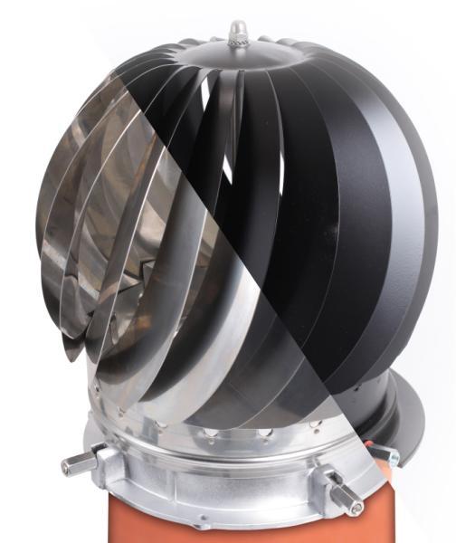 Rotorvent spinner schoorsteenkap 149 euro